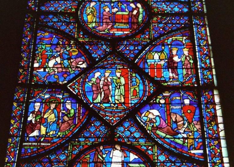 Vitrail Charlemagne