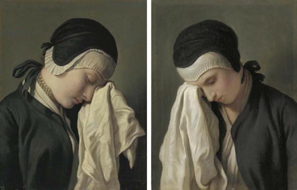 Jeunes femmes en pleurs
