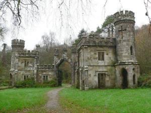 château abandonné en Irlande