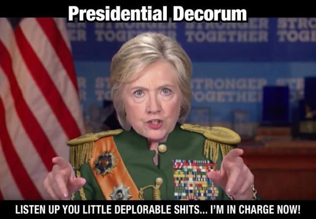 hillary-decorum